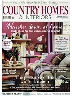 Country Homes & Interiors, Feb 2015
