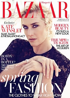 Harper's Bazaar, March 2015